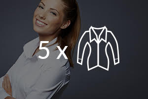 5 Blouses Saving pack - Dry Clean and Laundry